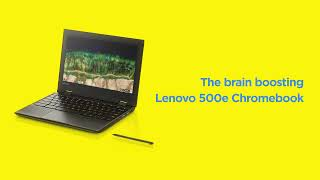 Lenovo 500e Chromebook Garaged EMR Pen