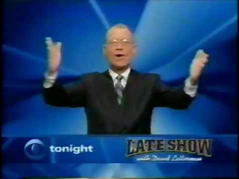 March 2001 - Promo for '60 Minutes II' & David Letterman
