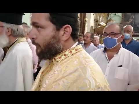 Από τον εσπερινό της Μεταμόρφωσης του Σωτήρος Χριστού στον πανηγυρίζοντα Μητροπολιτικό Ναό Καλύμνου