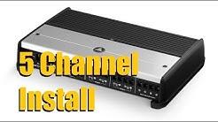 5 Channel Amplifier Installation (JL Audio XD 700/5) | AnthonyJ350