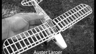 FROM Alfredo in Uruguay  to St Helens Merseyside, U.K Auster RC Conversion Peanut Scale