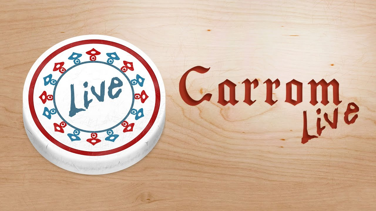 Carrom Live offline game for iOS device 2018
