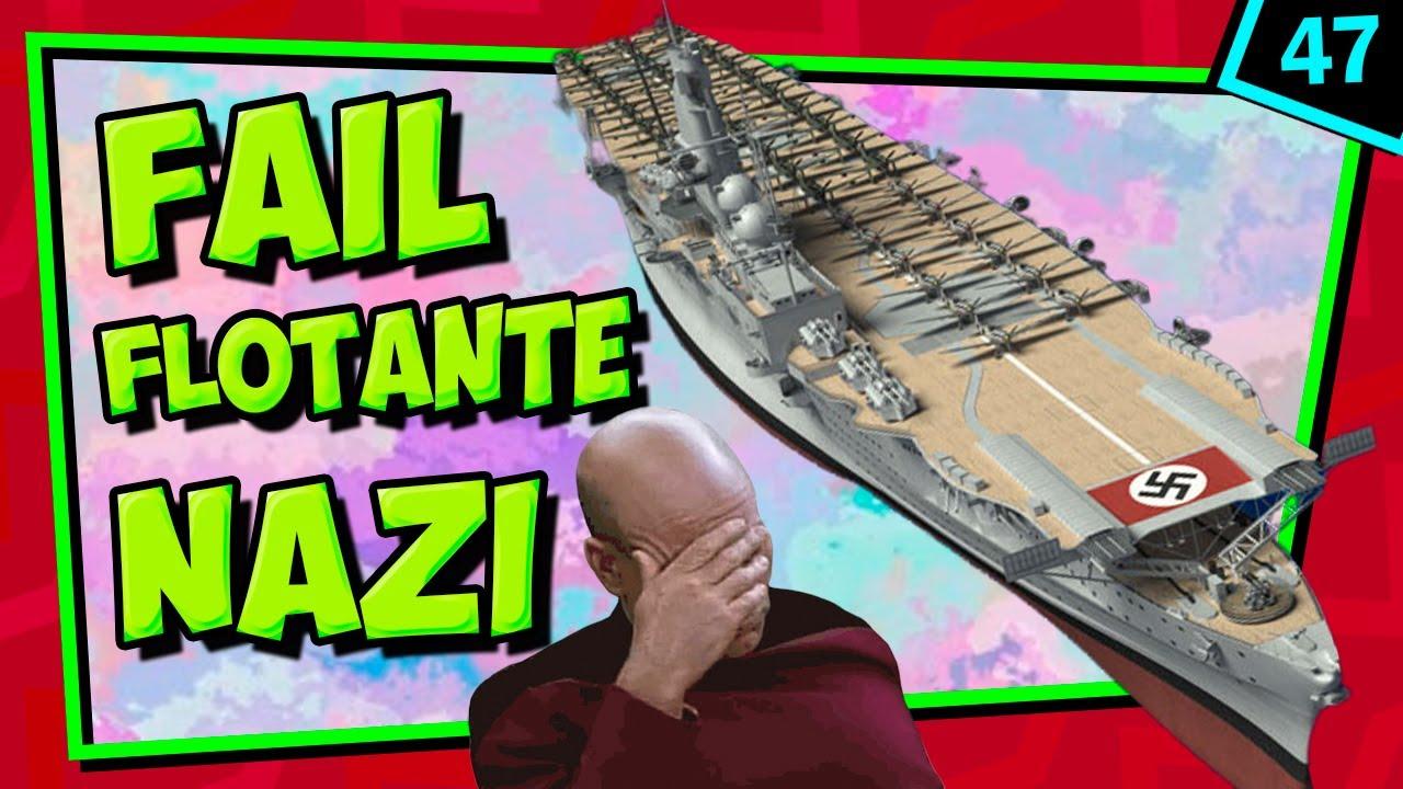 IIGM💥 El ÚNICO portaaviones de los nazis