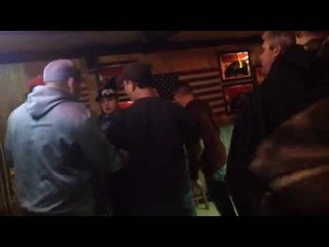 BAR FIGHT IN HICK TOWN MISSOURI…HILLBILLIES DOUBLE JUMP A DUDE AND DELIVER A SWIFT A$$ WHOOPIN