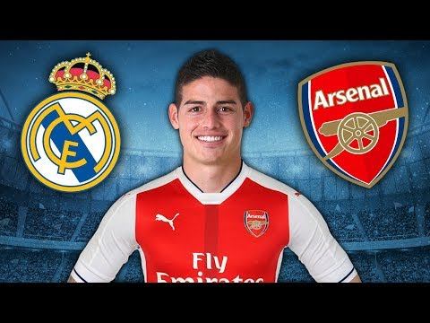 Arsenal Set To Make A HUGE Bid For Real Madrid Star James Rodriguez | Arsenal Transfer Rumours
