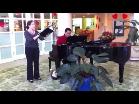 """You Lift Me Up"" Shannon K., Voice Darran Matias, piano"
