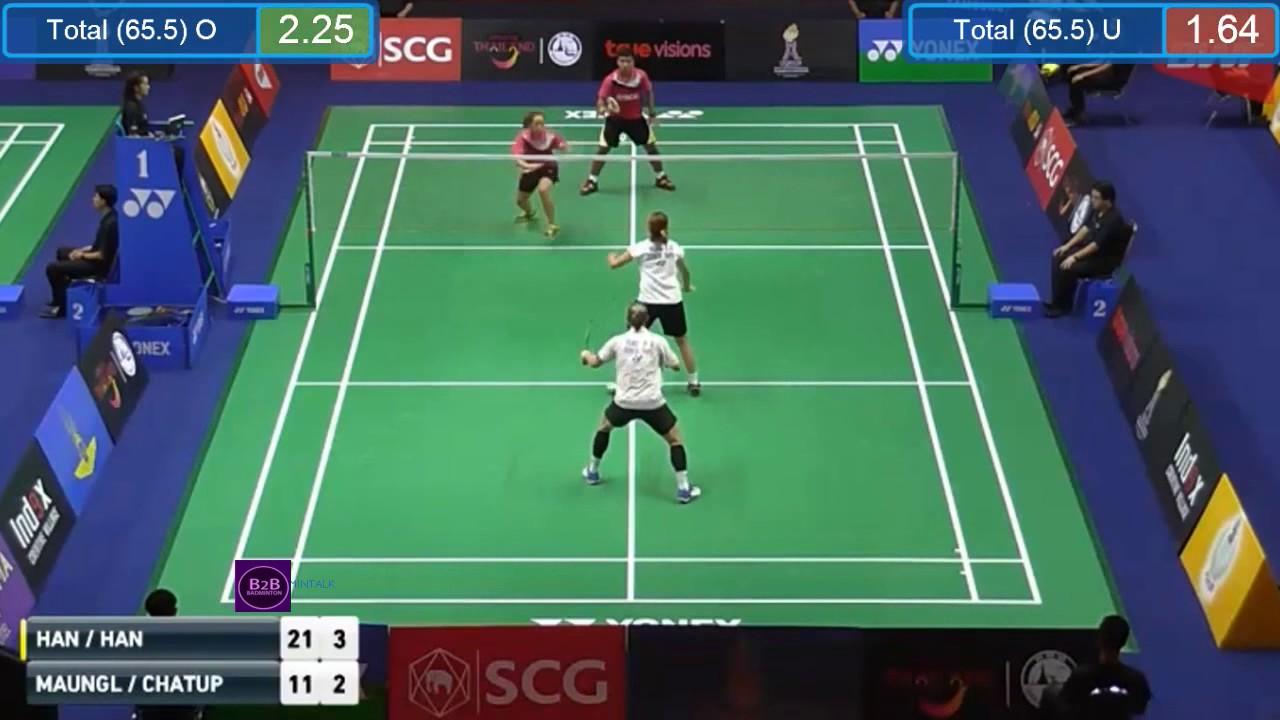 Thailand Masters 2017 R1 YANG Po Han HUNG Shih Han vs Sukrit