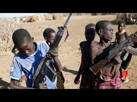 Gun-toting teenagers run deadly cattle rustling syndicate || #RustlersParadise