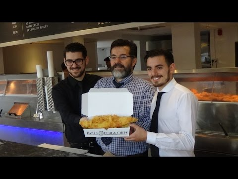Opening Of Papas Fish & Chips At Cleethorpes Pier [Advertorial]