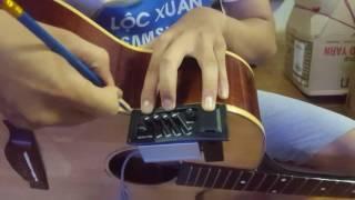 Các bước lắp EQ (mô-bin) cho guitar (Part 1/2)
