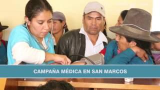 Resumen de la labor de Gestión Social de Antamina en San Marcos en 2016