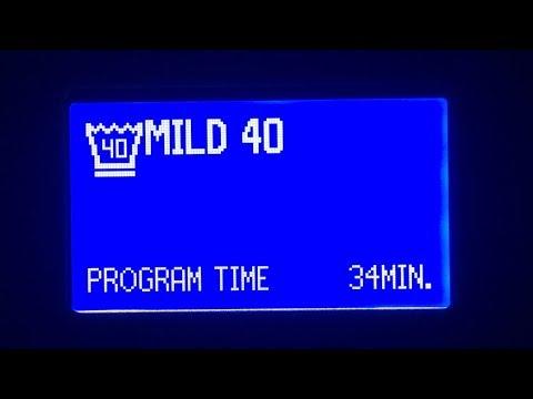 Electrolux Professional W555H : Mild 40°C