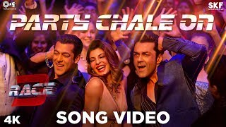 Party Chale On Song Video - Race 3 | Salman Khan | Mika Singh, Iulia Vantur | Vicky-Hardik
