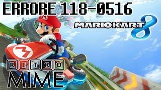 Soluzione Errore Mario Kart 8 118-0516 0519 0520 [Solution]