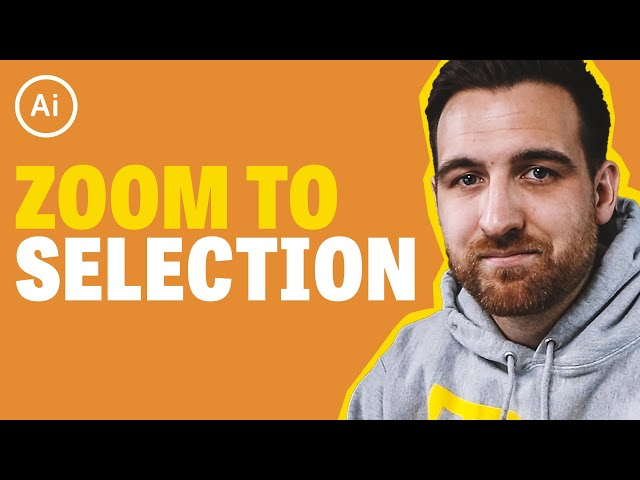Zoom to Selection - Illustrator Tutorial