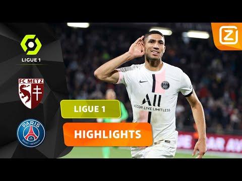 GEWELDENAAR HAKIMI SCHITTERT VOOR PSG! 💥   Metz vs PSG   Ligue 1 2021/22   Samen