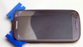 Samsung Galaxy S3 Glas Wechseln beste methode fur Zuhause. Digitizer LCD Tauschen Reparatur