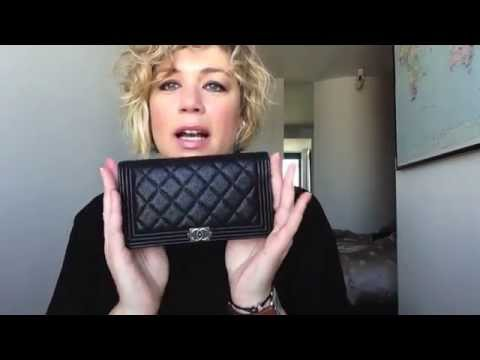 224fdc5d350 Chanel BOY Wallet Review - YouTube