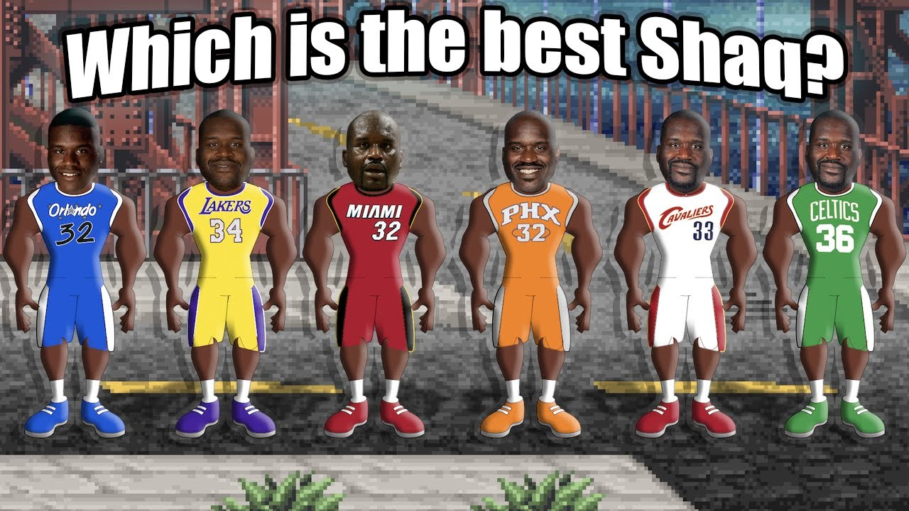 Which Version of Shaquille O'Neal is the Best? Ranking Every Version of SHAQ from Worst to Best!