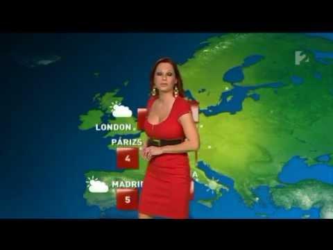 Gaál Noémi 2012 01 15 Időjárás - Sexy Hungarian Weather Forecast Girl thumbnail