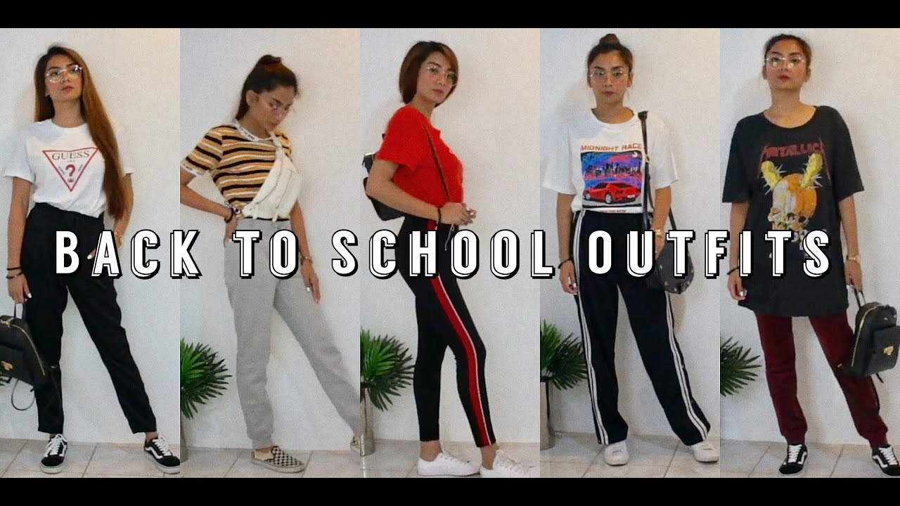 BACK TO SCHOOL OUTFIT IDEAS ??   Philippines 1