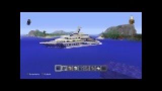 MINECRAFT TUTO comment faire un yacht de luxe ep 2