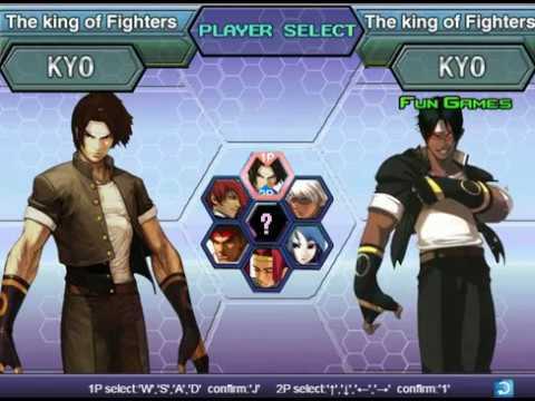 Король бойцов - крыло.The King of Fighters Wing