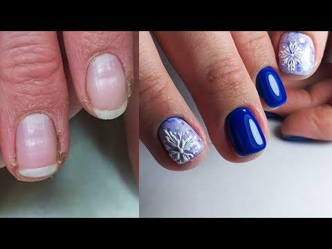 Видео дизайн ногтей шеллаком