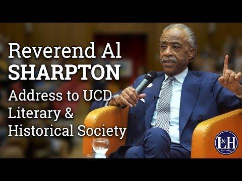 Rev. Al Sharpton Address to UCD Literary & Historical Society upon receipt James Joyce Award (2017)