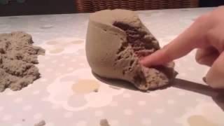 Неопесок (живой кинетический песок )- интересное развлечение!