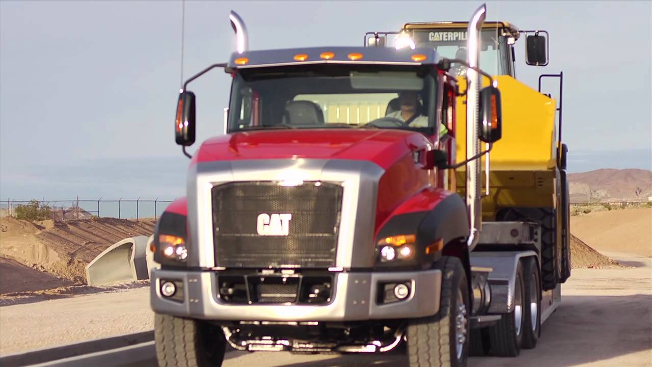 Win a Cat CT660 Vocational Truck - YouTube