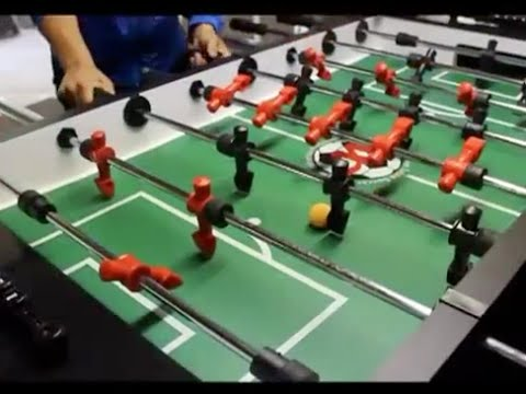 Easy    to assemble foosball table Pro play VIDEO  YouTube