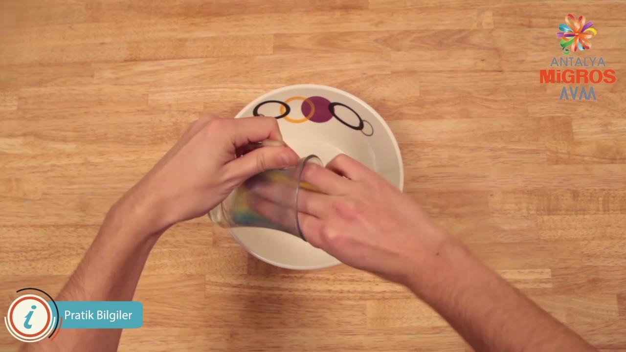 Sararan Çay Bardağı Nasıl Temizlenir