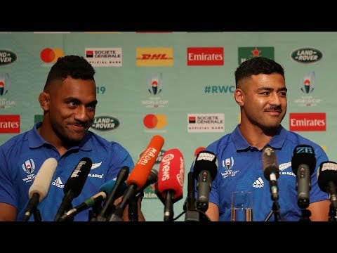 All Blacks Face The Media In Tokyo