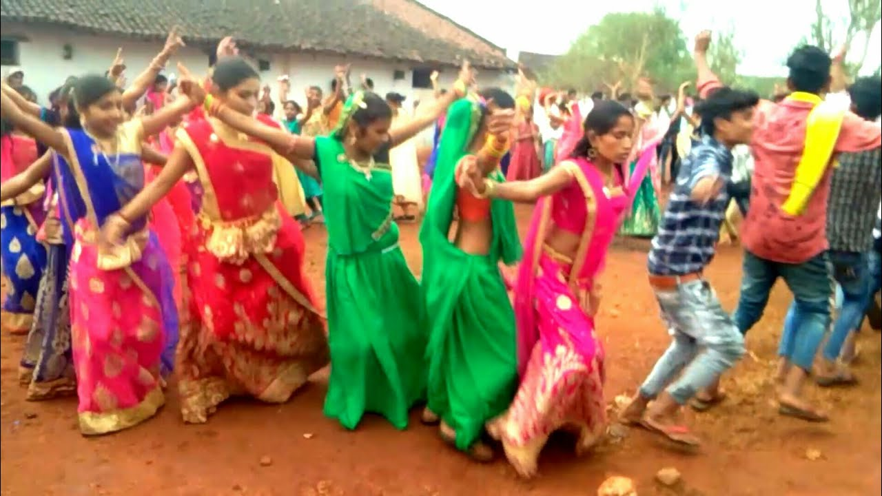 New sogh adivasi timli video madiya jamod   दिनेश टांप खोल गोलु बेंस खोल  pe dance Full HD 2019/20