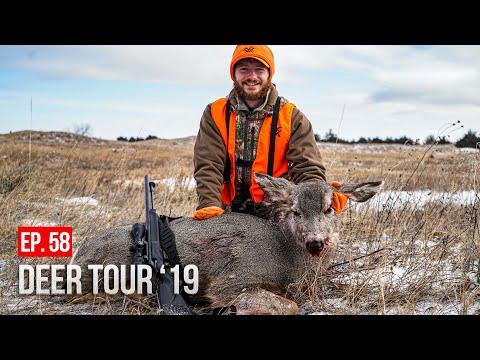 DYLAN'S FIRST MULE DEER! - Nebraska Muzzleloader Hunting