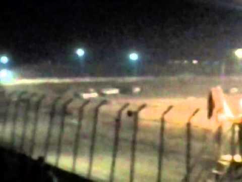 Joseph Bobbitt Victory Lane Clay County Speedway