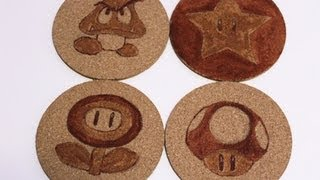 Super Mario Coasters - DIY Geeky Goodies