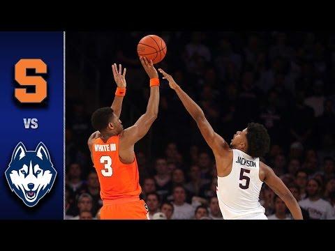 Syracuse vs. UConn Men