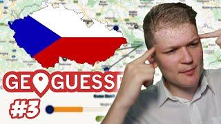 Geoguessr, ALE HRÁM ČESKÚ REPUBLIKU! - Geoguessr #3