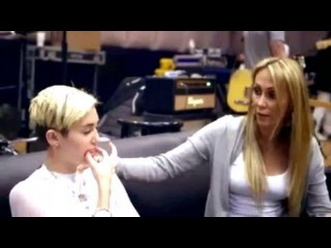 Miley Cyrus's Mother Tish Cyrus Is Not Happy WIth Her Daughter Exposing