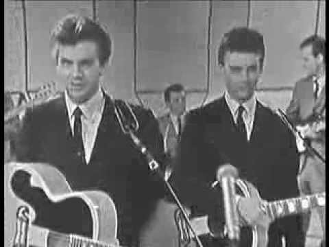 EVERLY BROTHERS - Cathy's Clown (live UK 1961)
