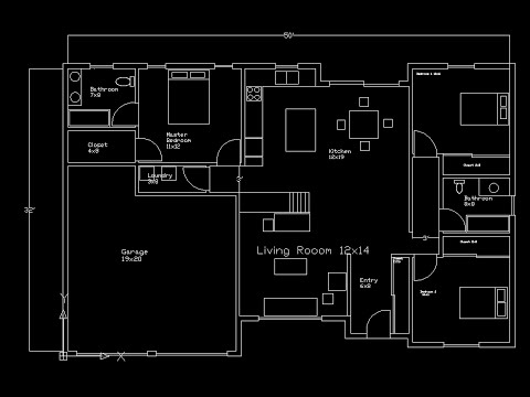 Floorplan complete Tutorial - AutoCAD