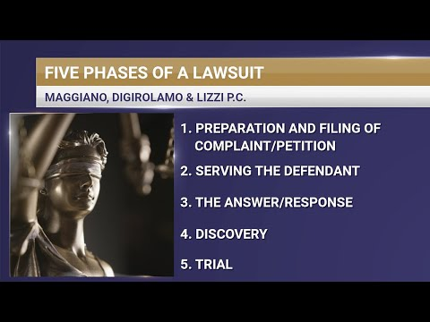 What Are the Phases of a Lawsuit?   Maggiano, DiGirolamo & Lizzi P.C.