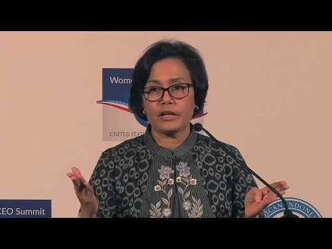 Sri Mulyani Speech at the US-Indonesian Women's CEO Summit 2017
