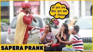 Saanp Sapera Prank On Cute Girls| Funky Joker