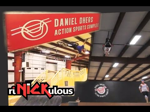 A riNICKulous Tour of the Daniel Dhers Action Sports Complex / DDASC on my  Dirt jumper