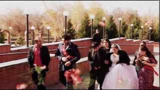 Свадьба Насти и Коли ( 2 часть 1 диск) Цыганская свадьба г. Павлодар