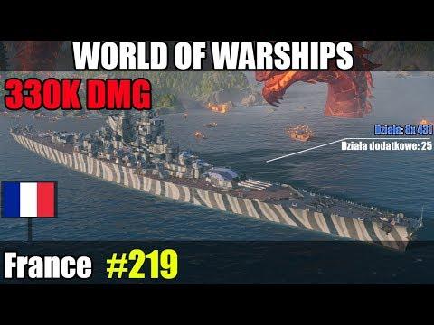 France 330K DMG - World of Warships WiP