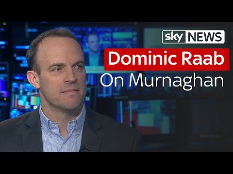 """Dominic Raab MP: """"He's Got Absolutely Nothing To Hide"""""""